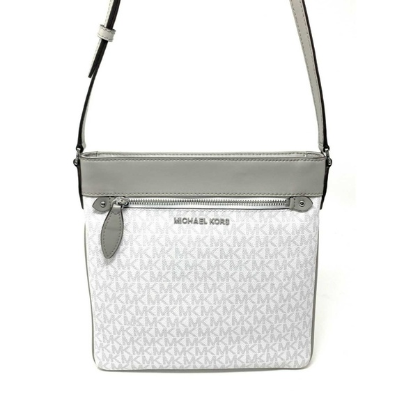 90985c804715 Michael Kors Bags | Connie Large Crossbody Bag White | Poshmark